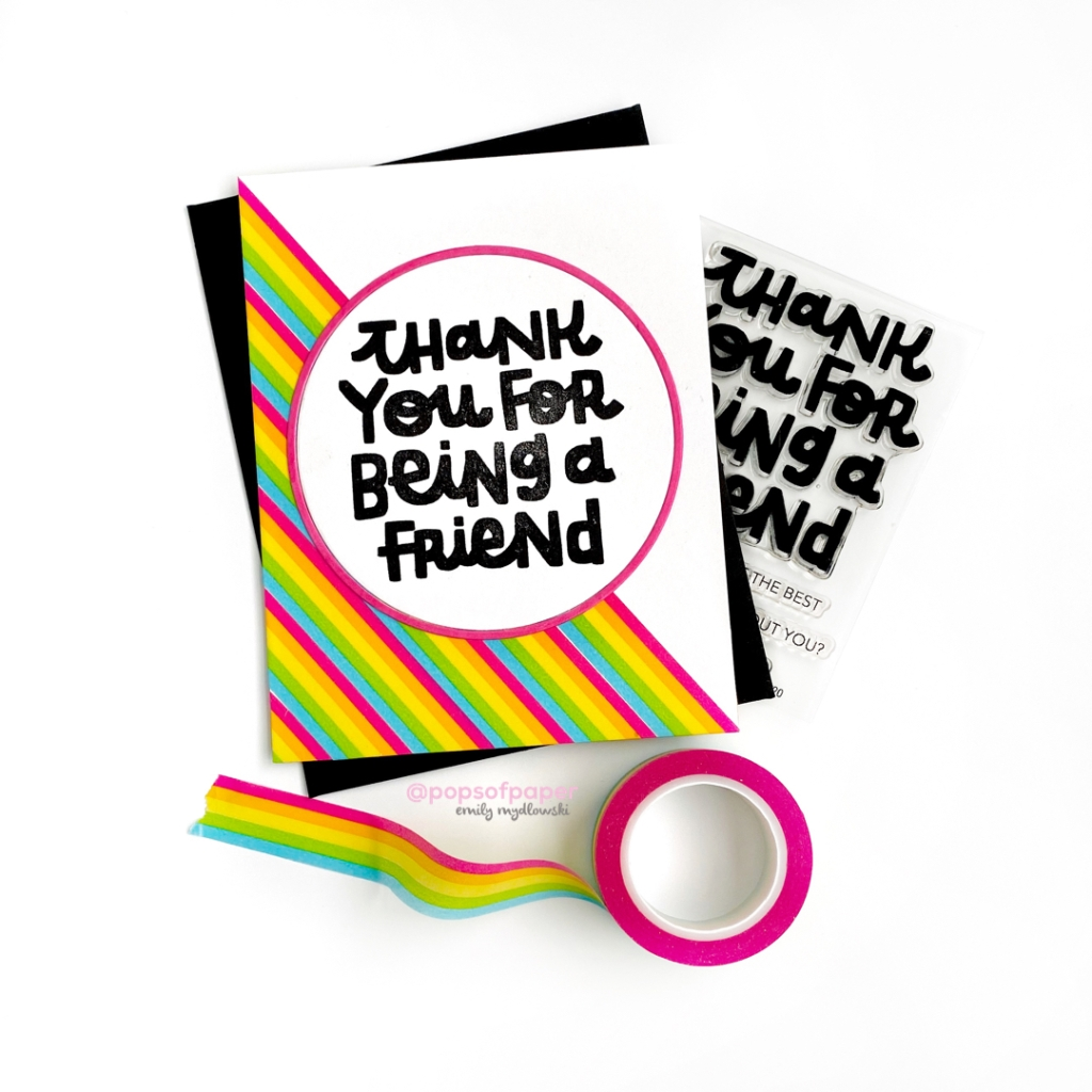 Essentials by Ellen Thank you for Being a Friend Stamp Set